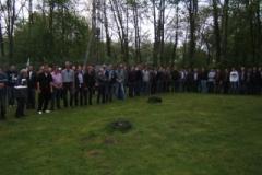 Fahne Wegbringen und Rosenmachen 2012